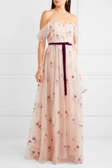 robe longue fleurs femme 50 ans mariage boheme chic