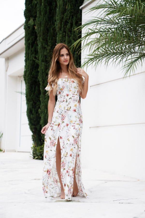 robe longue mariage