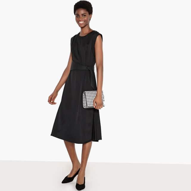 robe noire femme 50 ans pour mariage