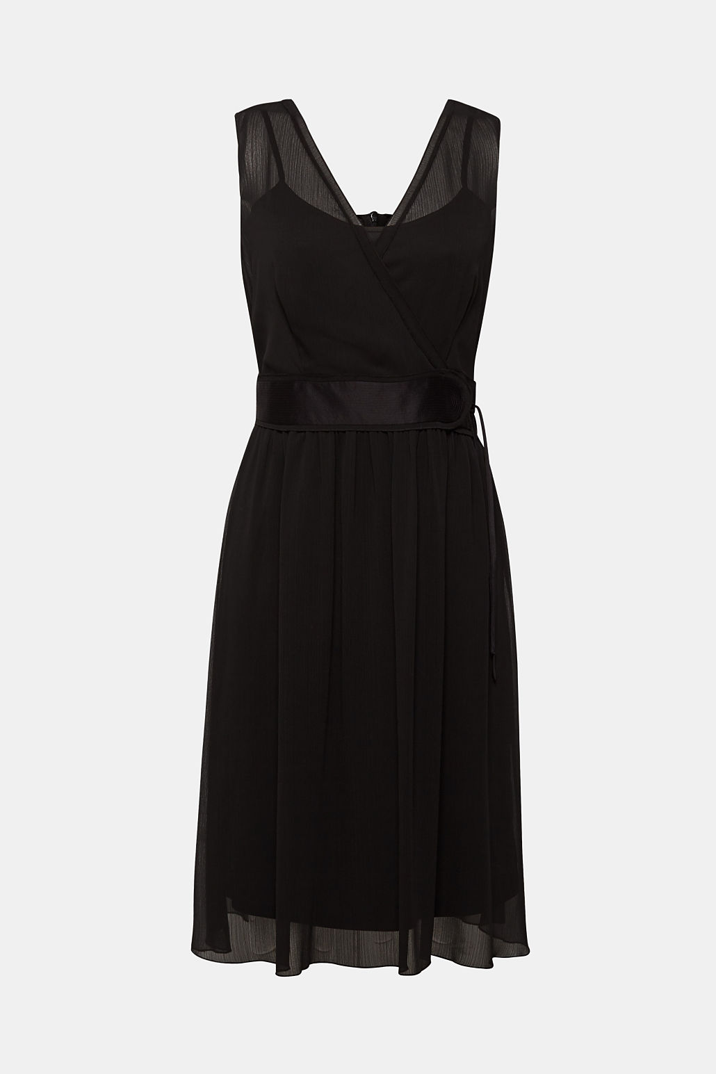 robe voile noire mariage