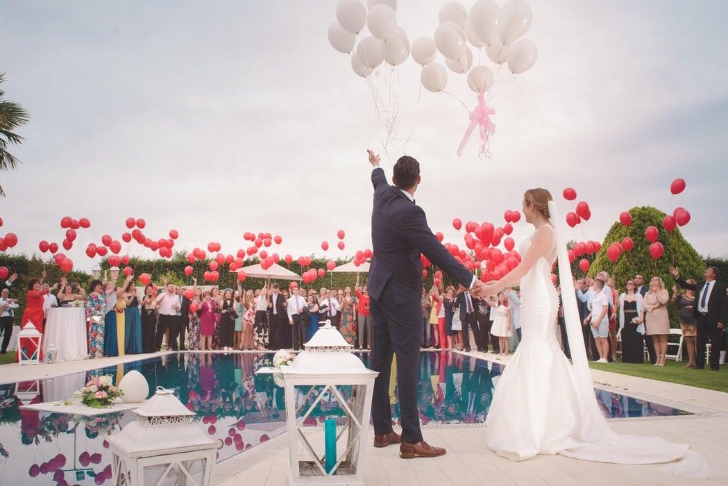 que faire avec des ballons à un mariage decoration et animation