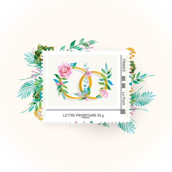 les timbres de mariage