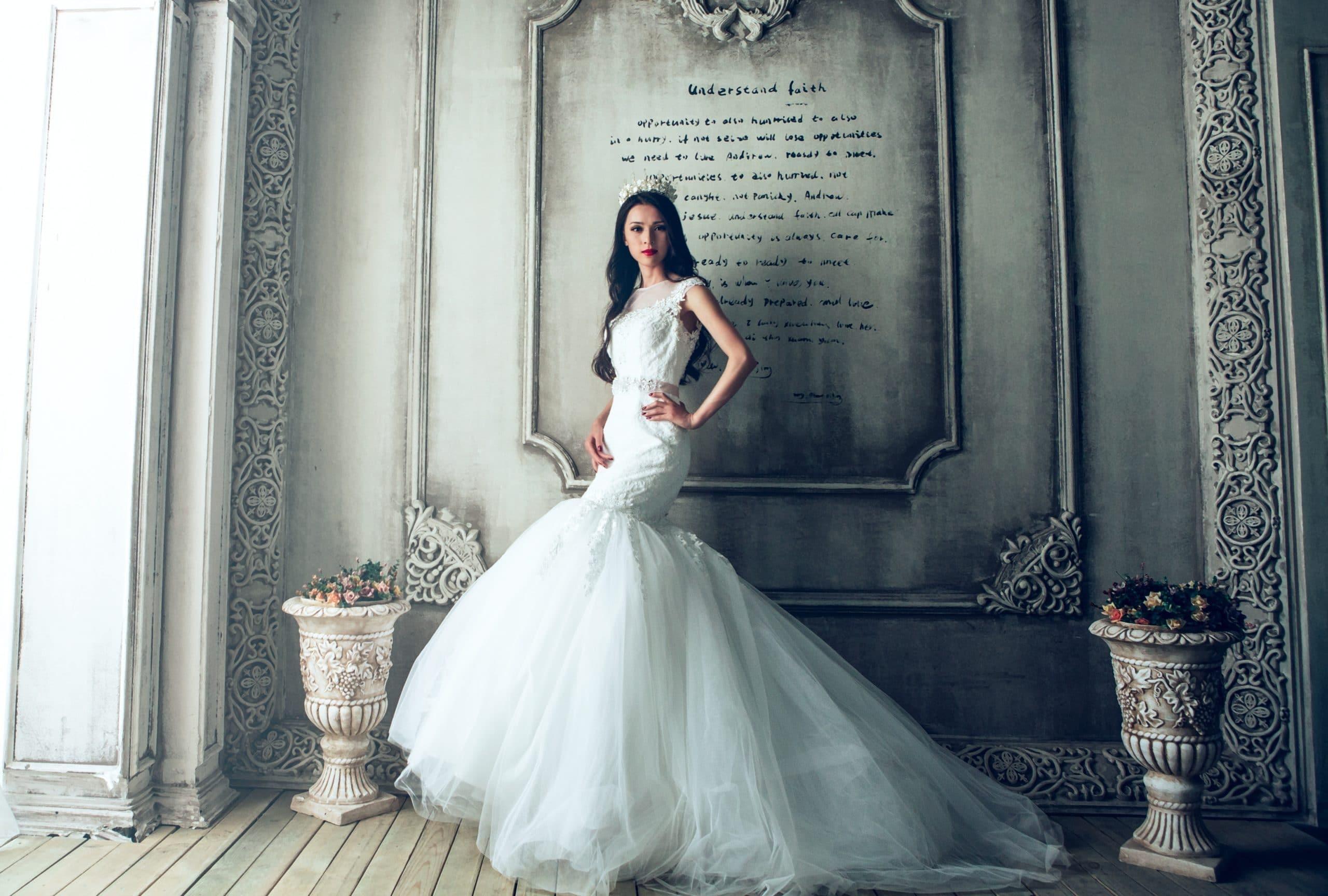 Robe de mariée sirène: pour quelle morphologie? Comment la porter?