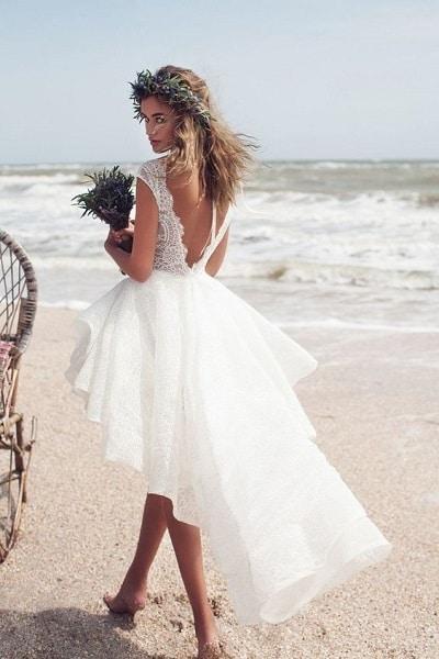 Robe De Mariee Courte Comment La Choisir Wedding Secret