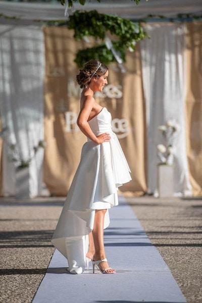 robe-mariée-courte-devant