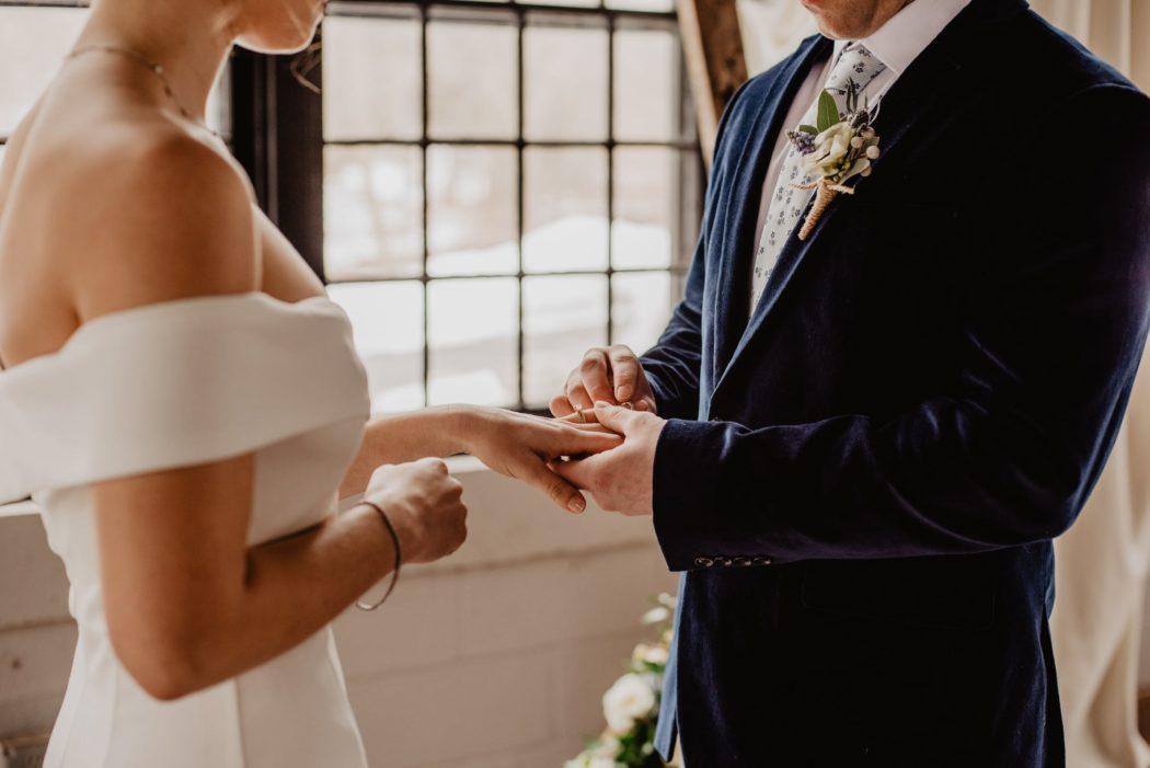 faire part mariage classique minmaliste