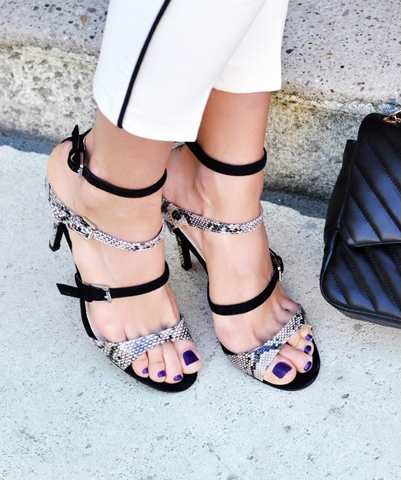 4 sandales pour invitée de mariage stylée et élégante