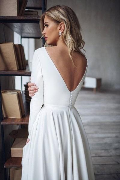 robe-mariée-minimaliste