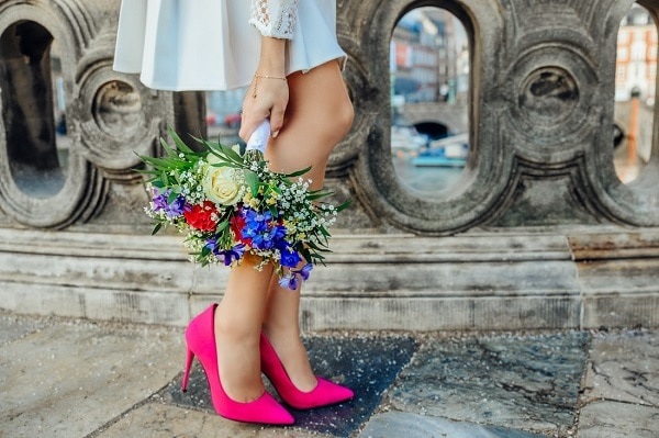 chaussures-mariage-rose
