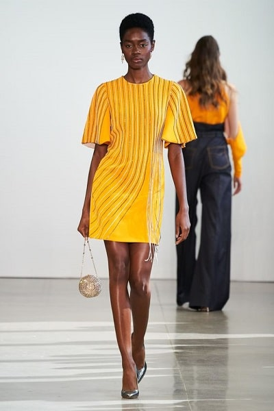 robe-jaune-courte