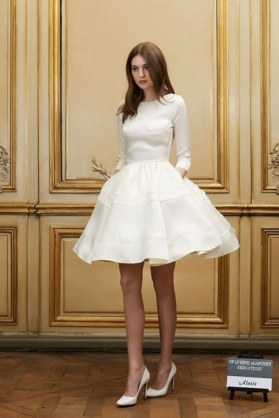 robe-mariée-courte