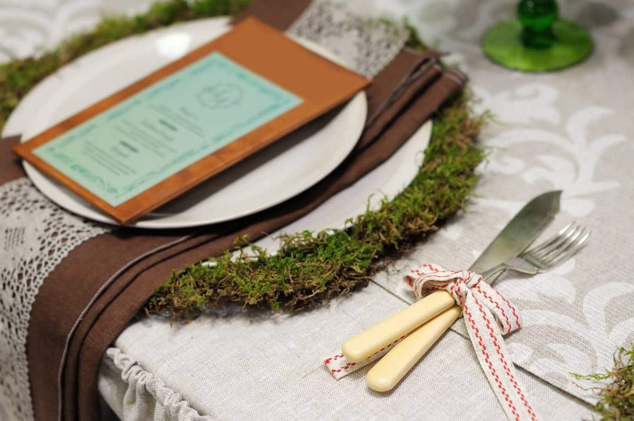 Quelle décoration de table pour un mariage champêtre ?