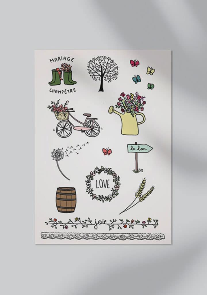 tatouage ephemere animation mariage par petit mariage entre amis 2