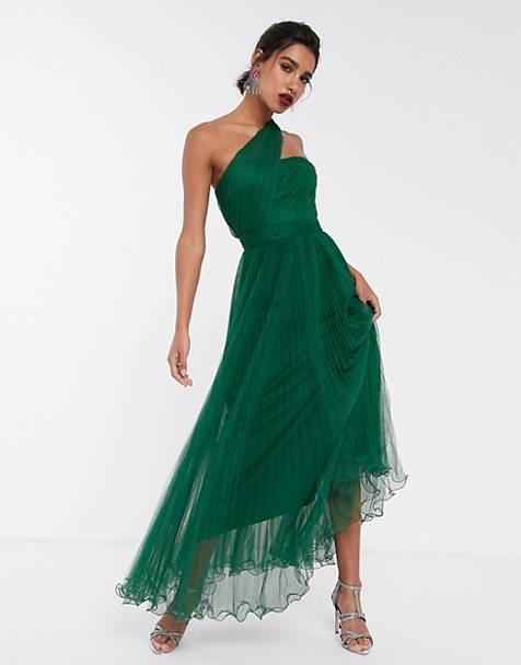 robe-asymétrique-plissée