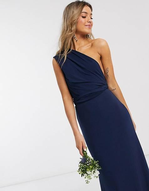 robe-bleu-marine-longue