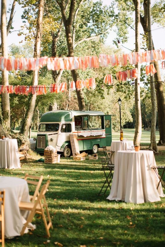 foodtruck mariage