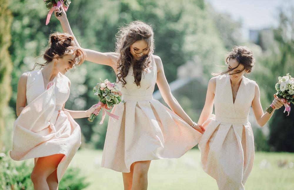 robe témoin mariage
