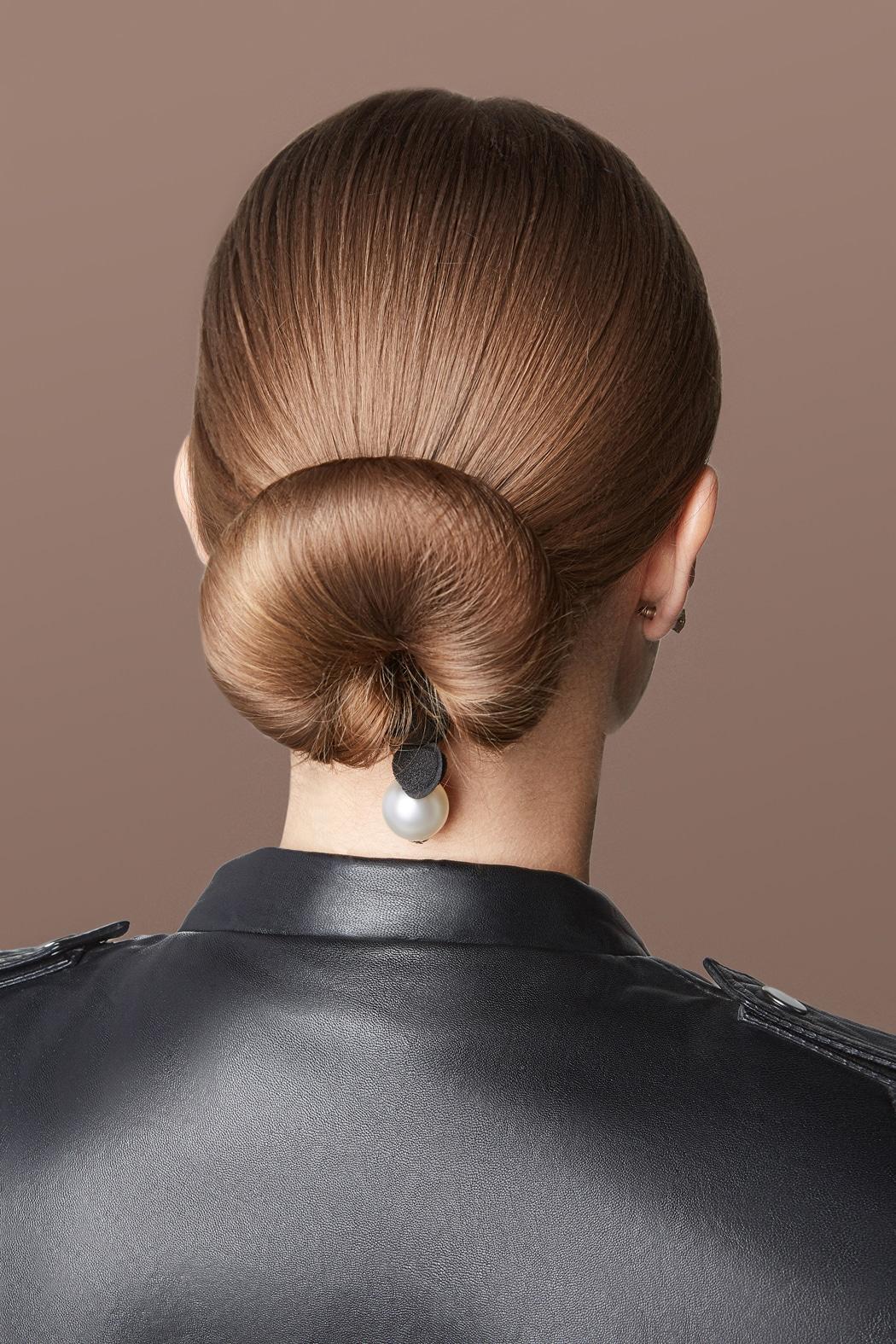 coiffures sur cheveux lisses parfaites pour un mariage